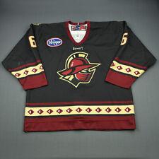 2009-10 Drew Paris Gwinnett Gladiators Game Used Worn ECHL Hockey Jersey