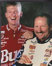 DALE EARNHARDT SR & JR The Intimidator 7 TIME NASCAR CHAMPION  8 X 10 PHOTO 4