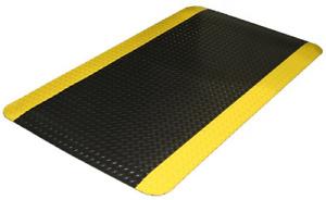 Durable Vinyl Heavy Duty Diamond-DEK Sponge Industrial Anti-Fatigue Floor Mat...