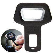 1pc Metal Car Seat Belt Buckles Clip Insert Warning Alarm Stopper Bottle Opener