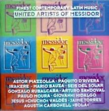 United Artists of Messidor (1993) Giovanni Hidalgo, Paulo Moura, Paquito .. [CD]