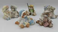Vintage 1994 Lot of 5 Calico Kittens Collection Fishing Easter Love Book Cute