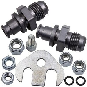 Power Steering Rack AN Line Conversion Fittings Assembly for Mercury Marquis