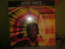 BARRY WHITE LP IS THIS WHATCHA WONT ? MINT SEALED LP RECORD VINYL