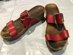 Womens Shoes Sweet Size Uk 6 Colour Red