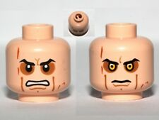 LEGO - Minifig, Head Sunken Eyes, Cheek Lines, Teeth / Close (Anakin Skywalker)