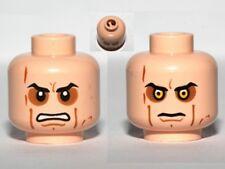 LEGO - Minifig, Head Sunken Eyes, Cheek Lines, Teeth / Close (Anakin Skywalker)