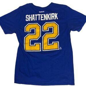 St. Louis Blues Kevin Shattenkirk #22 Shirt (Large) Reebok