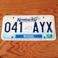 2006 Kentucky Boone County License Plate 041AYX - US SELLER