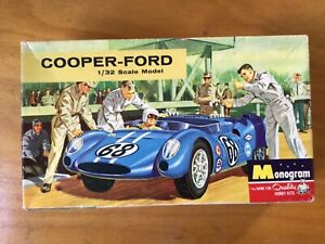 Monogram 1/32 Cooper Ford kit original