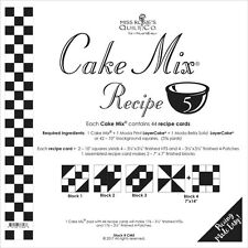 MISS ROSIE'S QUILT CO~CAKE MIX RECIPE 5~44 SHEETS 4 LAYER CAKE PAPER PIECING