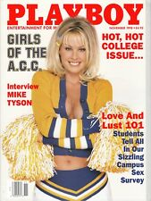PLAYBOY NOV. 1998 - JULIA SCHULTZ, MIKE TYSON, GIRLS OF A.C.C., DR. DREW