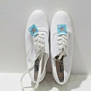KEDS Original WH45750 White Leather Washable Sneakers Size 9