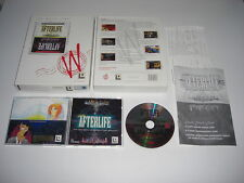 AFTERLIFE - The Last Word In Sims Pc Cd Rom White Label BIG BOX - FAST  POST