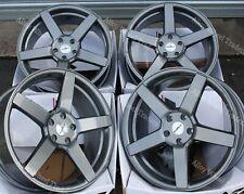 "19"" GM CC-Q Alloy Wheels Fits 5x110 Vauxhall Astra Corsa Signum Zafira Vectra"