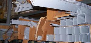 Hellerman Tyton  Wire Duct OPEN SLOT Wiring Trough SD4x4 SL3x2 SL2x3 SL3x3 Lot