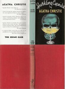 Agatha Christie  SPARKLING CYANIDE  2nd w/fdj 1947 Collins mystery