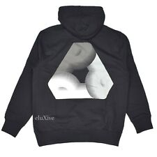 NWT Palace Mens Black Fat Pee Tri Ferg P Logo Hoodie Sweatshirt M FW19 AUTHENTIC