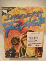 Dagger's Rage Intergalactic Battleship Game  Windows 95 3.1. CD-ROM. Vintage NEW