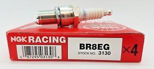 BR8EG NGK Spark Plugs #3130 4 Spark Plug