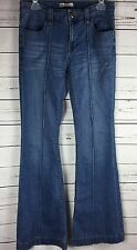 Free People Flare Bell Bottom Stretch Jeans Pocket Detail Size 28