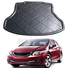 For 12-15 Honda Civic Sedan Coupe Rear Floor Tray Protector Trunk Cargo Boot Mat