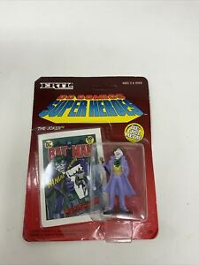 DC Comics Super Heroes Batman The Joker (1990) Ertl Die-Cast Figure Unpunched