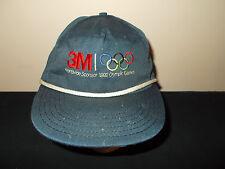 VTG-1992 Olympic Games Barcelona rope style 3M Sponsor snapback hat sku13