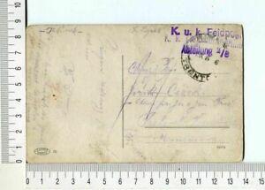 24794 Österreich 1 9 1914 Feldpost PC Trento To Praha