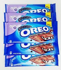 5 Milka OREO CHOCOLATE CANDY BAR Cookie Candy Bar 3.52 oz ea