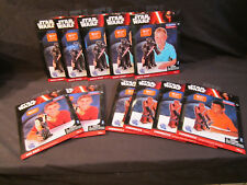 Star Wars Blueprints Paper Craft Lot with Vader, Han Solo, Chewbacca