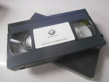 BMW VHS Video Cassette Tape 2001 National TV Campaign #A