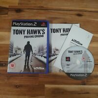 Playstation 2 - Tony Hawk's Proving Ground PS2 Game Complete With Manual Good