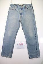 Levi's 505 Regular Fit (Cod. M1425) tg50 W36 L32 jeans usato Vita Alta vintage
