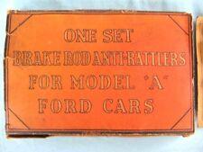 "OFFER$!! RARE! Ford Model A ""BRAKE ROD ANTI-RATTLERS"" SET ~LQQK~NICE DISPLAY!"