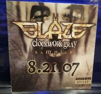 Blaze Ya Dead Homie - Clockwork Gray Sampler CD twiztid insane clown posse icp