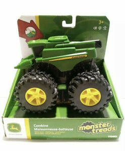 John Deere Monster Treads Lights & Sounds Combine Harvester. FAST FREE SHIPPING!