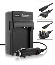 Mains & Car Charger for Nikon EN-EL12 Coolpix S9600 S9700 P340 AW120 Battery