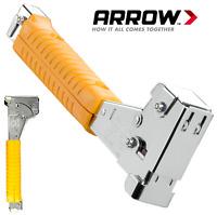Arrow HT55 Professional Heavy Duty Hammer Tacker T50 Staples 6mm 10mm AHT55