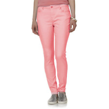 Joe Boxer Juniors Push-Up Skinny Jeans Low Rise Pink Size 1 Free Shipping!