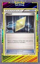 Rappel - N&B: Noir et Blanc - 102/114 - Carte Pokemon Neuve Française