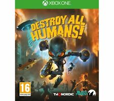 XBOX ONE Destroy All Humans Action 16+ Single Player - Currys