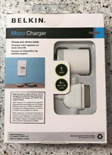 Belkin Micro Charger Kit iPhone 4 4S and ipod 4G 3ft Sync Cable White NEW
