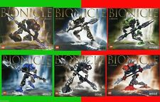 LEGO Bionicle RAHKSHI - Set of 6: 8587 8588 8589 8590 8591 8592 - 100% COMPLETE