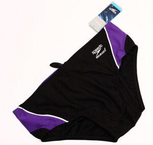 Speedo Men/'s Endurance Racing Mercury Splice Swimsuit Racing Briefs 8051201
