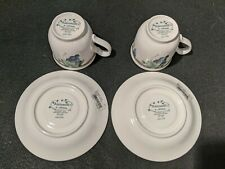 Pair of Keltcraft Noritake Ireland Nature's Bounty  cups & saucers. Never used.