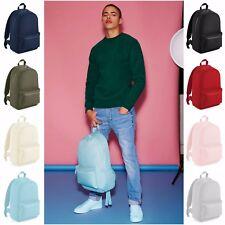 Backpack Mens Womens Girls Boys Pastel Backpack Bag School College Rucksack