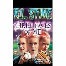 R.L. Stine Three Faces Of Me  SOFTCOVER Scholastic used