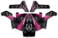 Polaris RZR 800 UTV Wrap Graphics Decal Kit 2007 2010 Reaper Revenge Pink