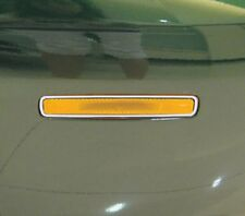 Jaguar X Type Chrome Bumper Reflector Trims x 4